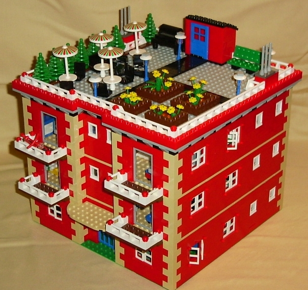 Building Instructions Bundle #4 with 7 custom LEGO Town or City ...