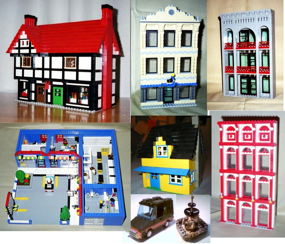 Building Instructions Bundle #2 with 8 custom LEGO designs | Lions ...