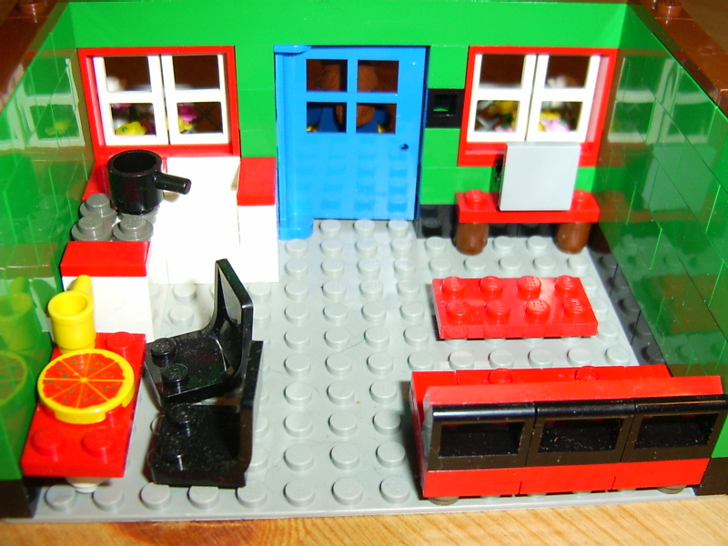 Playhouse Downloadable Lego Building Instructions Lions Gate Models