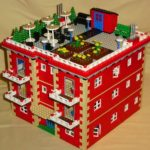 Apartment Block LEGO instructions