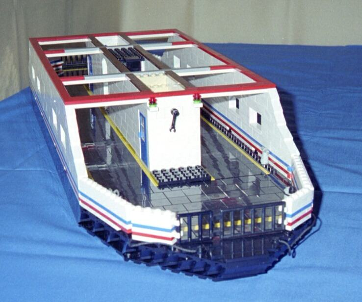 Car Ferry Downloadable Lego Instructions Lions Gate Models