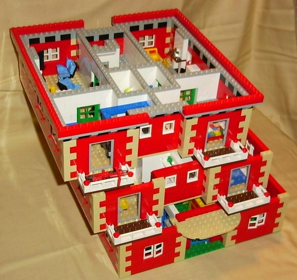 Apartment Block Downloadable Lego Building Instructions Lions Gate