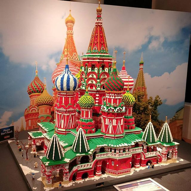 St Basils Cathedral Moscow Custom Lego Model Lions Gate Models