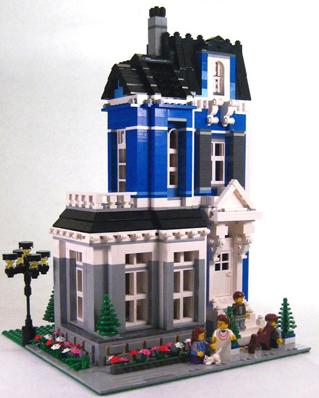 Lego Victorian House Lions Gate Models