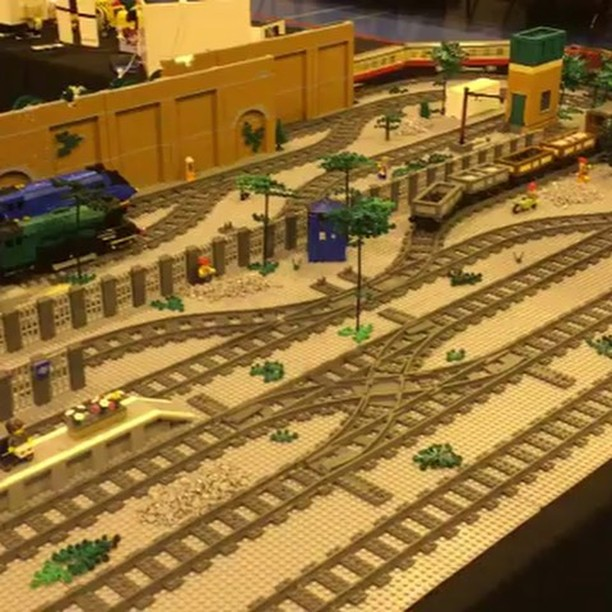 Another LEGO Train Drift Video | Lions Gate Models